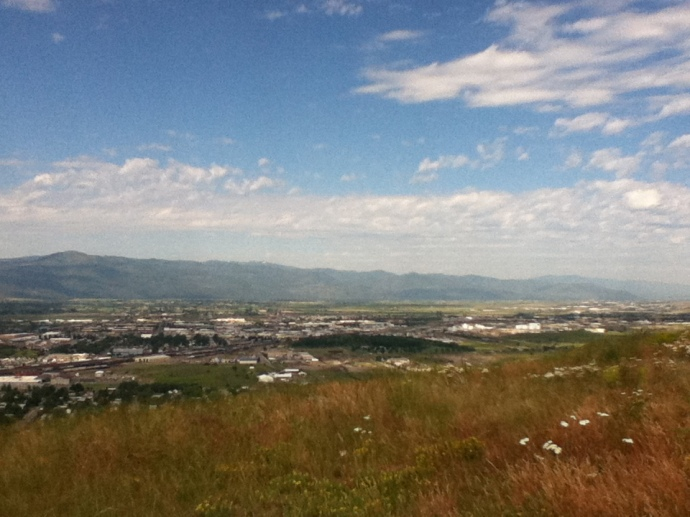 The Missoula Valley.  I'll NEVER be ready to leave. But I'm leaving anyway.